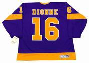 MARCEL DIONNE Los Angeles Kings 1978 CCM Vintage Away NHL Hockey Jersey