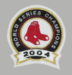 PEDRO MARTINEZ Boston Red Sox 2004 Away Majestic Baseball Throwback Jersey - Sleeve Crest