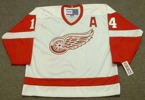 2002 Home CCM Throwback BRENDAN SHANAHAN Red Wings Jersey - FRONT