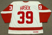 DOMINIK HASEK Detroit Red Wings 2002 Home CCM Throwback Hockey Jersey - BACK