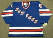 RON DUGUAY New York Rangers 1980 CCM Vintage Throwback NHL Hockey Jersey