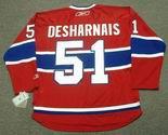 DAVID DESHARNAIS Montreal Canadiens REEBOK Premier Home NHL Hockey Jersey