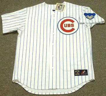 0a13aad2 CHICAGO CUBS 1960's Majestic Cooperstown Home Jersey Customized