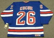 JOEY KOCUR New York Rangers 1990's CCM Vintage Throwback NHL Hockey Jersey