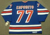 PHIL ESPOSITO New York Rangers 1978 CCM Vintage Throwback NHL Jersey