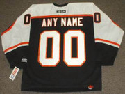"PHILADELPHIA FLYERS 1990's CCM Throwback Hockey Jersey Customized ""Any Name & Number(s)"""