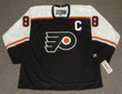 ERIC LINDROS Philadelphia Flyers 1998 CCM Throwback NHL Hockey Jersey - FRONT