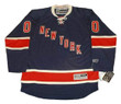 NEW YORK RANGERS Reebok 2012 Throwback Customized Jersey - Front