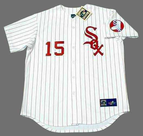RICHIE ALLEN Chicago White Sox 1970's Home Majestic Baseball Throwback Jersey - FRONT