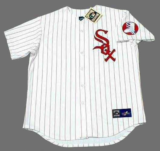 a2c3a702 CHICAGO WHITE SOX 1970's Majestic Cooperstown Throwback Home Jersey -  Custom Throwback Jerseys
