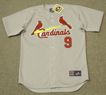 cheaper 36f60 088e6 ROGER MARIS St. Louis Cardinals 1967 Majestic Cooperstown Throwback Away  Jersey