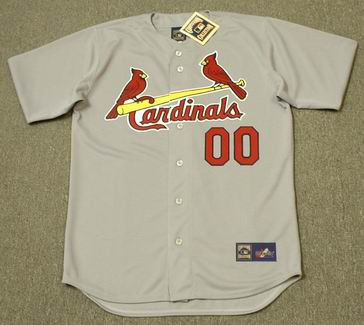 7c54c127 ST. LOUIS CARDINALS 1960's Majestic Cooperstown Away Jersey Customized