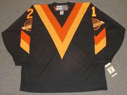 sale retailer f5e3b e143d CAM NEELY Vancouver Canucks 1983 CCM Vintage Throwback NHL Hockey Jersey