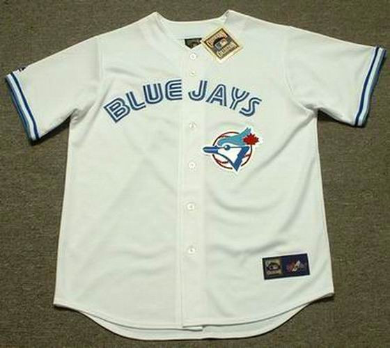 a91097c93 TORONTO BLUE JAYS 1990's Majestic Cooperstown Home Jersey Customized