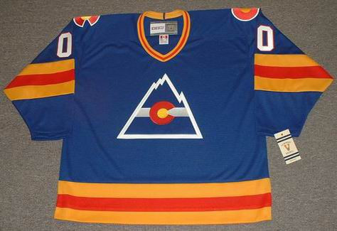 Customized 1970's Away CCM Vintage Colorado Rockies Jersey - FRONT