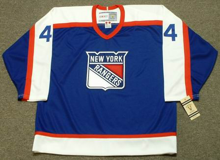 more photos 92aca 39d6e RON GRESCHNER New York Rangers 1978 CCM Vintage Throwback NHL Hockey Jersey