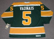 CAROL VADNAIS California Golden Seals 1971 CCM Vintage Throwback NHL Jersey - BACK
