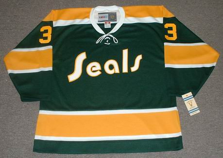 sports shoes 79b0c b37ce HARRY HOWELL California Golden Seals 1970 CCM Vintage Throwback NHL Jersey