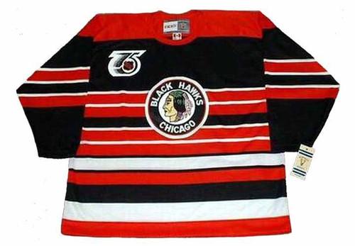 DOMINIK HASEK Chicago Blackhawks 1992 CCM Vintage Throwback NHL Hockey Jersey - FRONT
