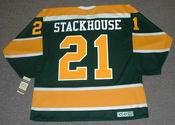 RON STACKHOUSE California Golden Seals 1970 CCM Vintage Throwback NHL Jersey
