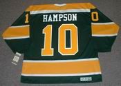 TED HAMPSON California Golden Seals 1970 CCM Vintage Throwback NHL Jersey
