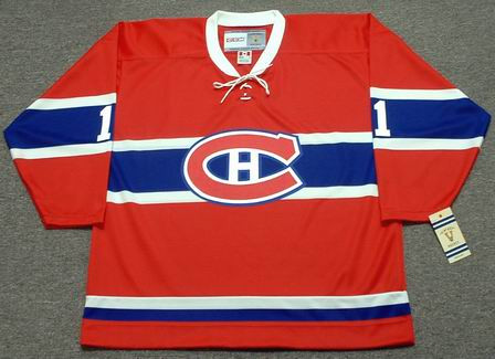 check out 9e5e3 30ae6 TONY ESPOSITO Montreal Canadiens 1968 CCM Vintage Throwback NHL Hockey  Jersey