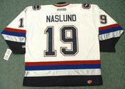 MARKUS NASLUND Vancouver Canucks 2005 CCM Throwback NHL Hockey Jersey