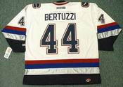 TODD BERTUZZI Vancouver Canucks 2005 CCM Throwback NHL Hockey Jersey