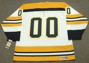 BOSTON BRUINS 1970's Home CCM Vintage Custom NHL Jerseys - BACK