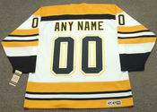 "BOSTON BRUINS 1970's CCM Vintage Throwback Home Hockey Jersey Customized with ""Any Name & Number(s)"""