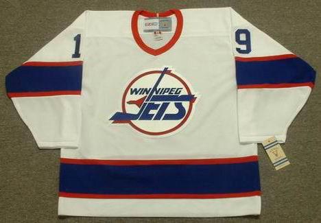 d199e2279e7 SHANE DOAN Winnipeg Jets 1995 CCM Vintage Throwback Home NHL Hockey Jersey  - Custom Throwback Jerseys