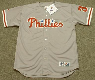 huge selection of 8df72 94c88 COLE HAMELS Philadelphia Phillies 2008 Majestic Throwback Away Baseball  Jersey