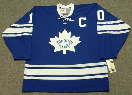 separation shoes b8e28 f557e GEORGE ARMSTRONG Toronto Maple Leafs 1967 CCM Vintage Home NHL Hockey Jersey
