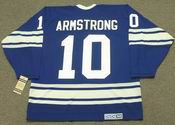 GEORGE ARMSTRONG Toronto Maple Leafs 1967 CCM Vintage Home NHL Hockey Jersey
