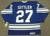 DARRYL SITTLER Toronto Maple Leafs 1970 CCM Vintage Throwback NHL Hockey Jersey - BACK