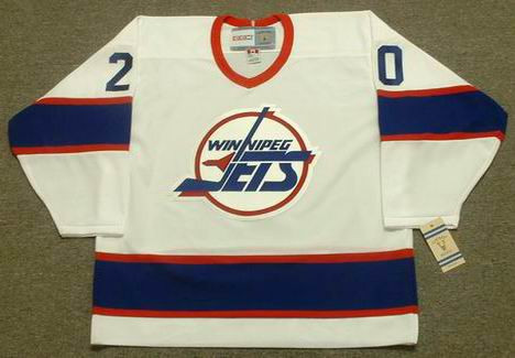 the best attitude fa71a 7324b TIE DOMI Winnipeg Jets 1993 CCM Vintage Throwback Home NHL Hockey Jersey