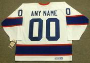 "WINNIPEG JETS 1990's CCM Vintage Home Jersey Customized ""Any Name & Number(s)"""