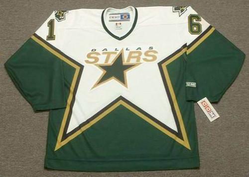 Brett Hull 2000 Dallas Stars CCM Home NHL Throwback Hockey Jersey - FRONT