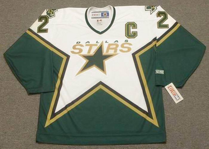 new product 1faf9 7ead6 DERIAN HATCHER Dallas Stars 1999 CCM Throwback Home NHL Jersey