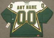 "DALLAS STARS 1990's CCM Throwback Home Jersey Customized ""Any Name & Number(s)"""