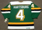 CRAIG HARTSBURG Mn North Stars Jersey 1988 CCM Vintage Throwback NHL - BACK