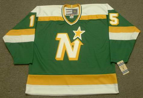 BOBBY SMITH Minnesota North Stars Jersey 1981 CCM Vintage Throwback NHL - FRONT