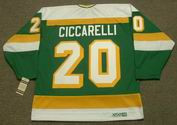 DINO CICCARELLI Minnesota North Stars 1981 CCM Vintage Throwback NHL Jersey