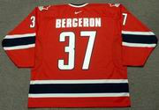 PATRICE BERGERON 2005 Team Canada Nike Throwback Hockey Jersey