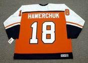 DALE HAWERCHUK Philadelphia Flyers 1996 CCM Throwback Away NHL Hockey Jersey