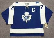DARRYL SITTLER Toronto Maple Leafs 1975 CCM Vintage Throwback NHL Hockey Jersey - FRONT