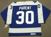 BERNIE PARENT Toronto Maple Leafs 1971 CCM Vintage Throwback NHL Hockey Jersey