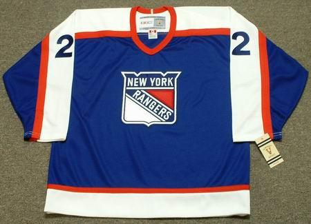on sale 6626d fa99f NICK FOTIU New York Rangers 1978 CCM Vintage Throwback NHL Hockey Jersey