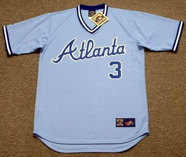 check out fefcf 2e885 DALE MURPHY Atlanta Braves 1983 Majestic Cooperstown Throwback Baseball  Jersey