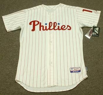 free shipping 1e03b de783 DARREN DAULTON Philadelphia Phillies Majestic Authentic Home Baseball Jersey